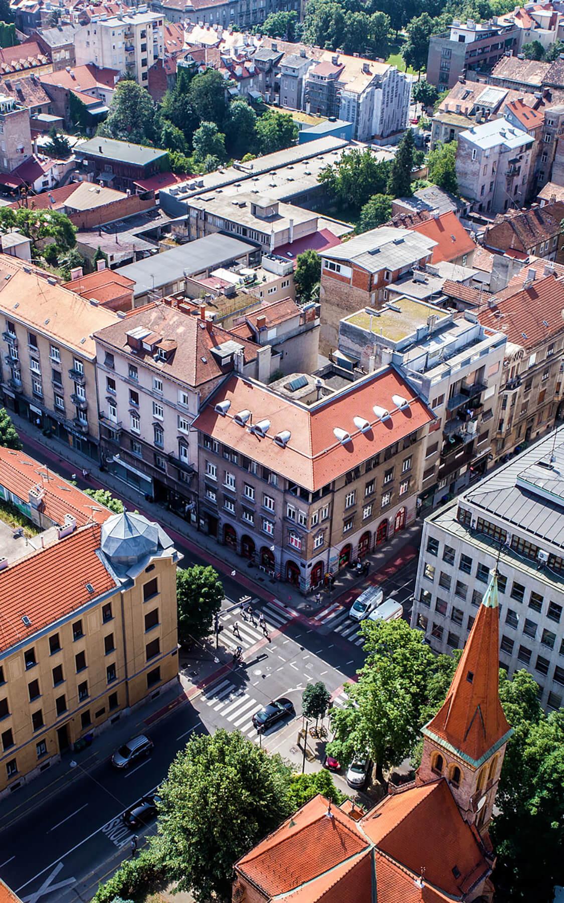 Innenstadt von Zagreb